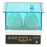 Egg Incubator, 4 Eggs Mini Incubator Hatcher Household Digital Automatic Hatching House Machine (#1)