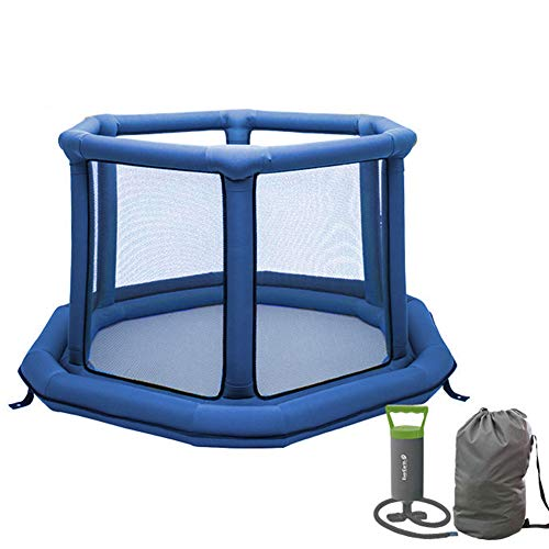 Best Price LVMAO Baby playpen,Baby Crawling Toddler Shatter-Resistant Fence Children's Play Fence Ho...