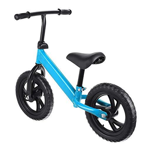 tyuiop 12 Pulgadas Bicicleta de Equilibrio para Bebé para Niños de 2 A 6 Años, Scooter de Dos Ruedas Sin Pedal para Aprender A Caminar