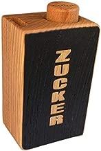 H/ölzerne handgemachte Zucker Topf Carving /& Inlay Arbeit with device of K Khandekar servieren Sch/üssel K/üche Container 4 Zoll dekorative Zucker Topf