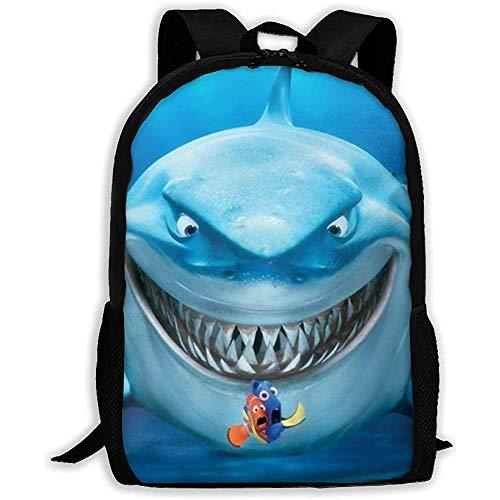 Kimi-Shop Sac à Dos Adulte Unisexe Finding Bruce Nemo...