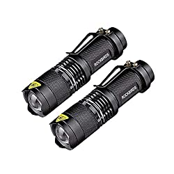 Rockbirds LED Tactical Flashlight, tactical flashlight reviews, led flashlight, self-defense flashlight, safety flashlight, powerful flashlight, best tactical flashlight