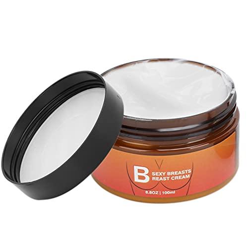 Cremas para realzar los senos de 100 ml Crema reafirmante para reafirmar los senos contra la flacidez, Crema de masaje para moldear los senos Crema para el cuidado de la piel corporal Loción para el c