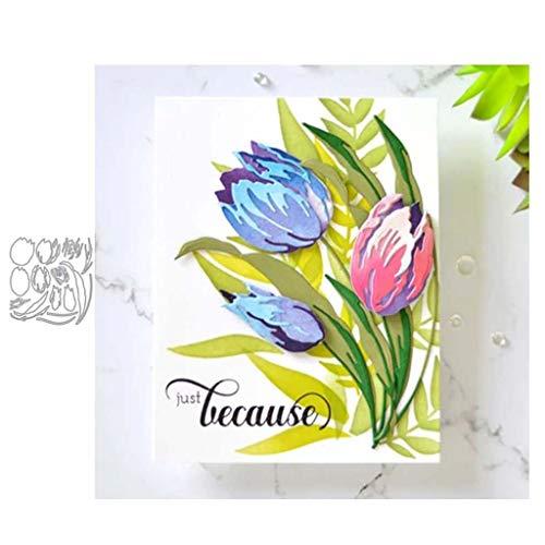 ECMQS Blumen Stanzmaschine Stanzschablone Prägeschablonen Stanzformen Schablonen Für Scrapbooking, Herstellung Von Karten, Albumdekoration, Bilderrahmen