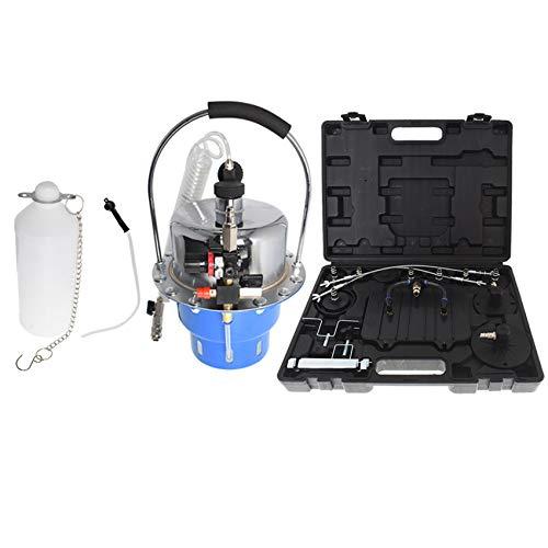 labwork Portable Pneumatic Air Pressure Kit Brake and Clutch Bleeder Valve System Kit Set