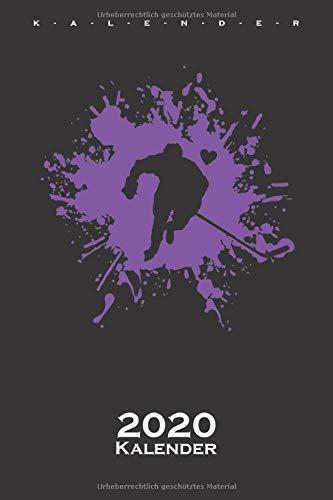 Ice Hockey ist Liebe Kalender 2020: Jahreskalender für Fans des rustikalen Nationalsports Kanadas auf dem Eis