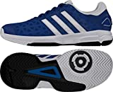 Adidas - Barricade Club XJ - AF4625 - El Color: Blanco-Negros-Azul - Talla: 36 2/3 EU