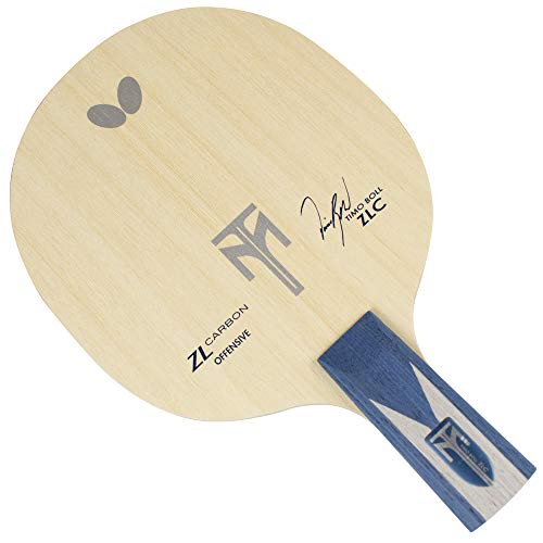Butterfly Timo Boll ZLC CS Table Tennis Blade - Chinese Style Penhold Blade - Timo Boll ZLC CS Blade - Perfect for Traditional or Reverse Penhold Style - Made in Japan
