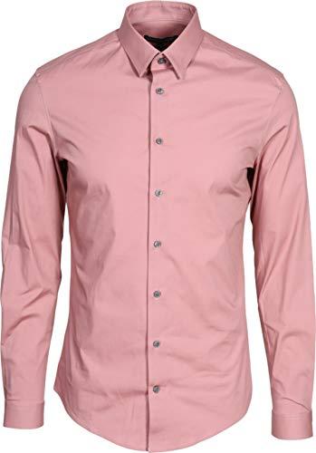 Drykorn Herren Hemd Maris in Rosa 43 / XL