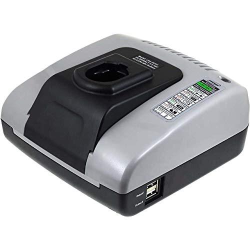 Powery Cargador de batería con USB para Dewalt Sierra de calar DC330KB
