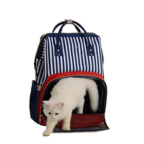 GHH Sac De Voyage pour Animal Pet Carrier Sac à Dos Léger Fashion Cat Dog Bag pour Faire du Vélo Randonnée Et Shopping