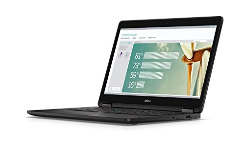 DELL LATITUDE E7270 12.5' LAPTOP INTEL CORE i5-6300U 6th GEN 2.4GHZ WEBCAM 8GB RAM 256GB SSD WINDOWS 10 PRO 64BIT (Renewed)