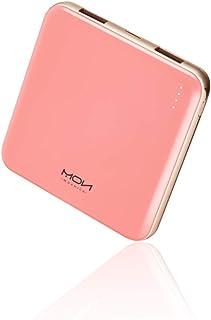 MOXNICE Power Bank bärbar telefonladdare 10 000 mAh, mindre och lättare batteripaket med 2 utgångar för iPhone, Samsung, H...