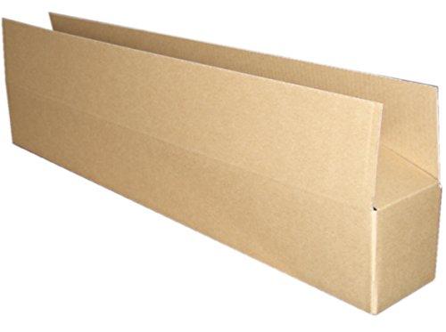 B2ポスター梱包ダンボール(定形外/宅配80対応/550×120×105) 5枚セット