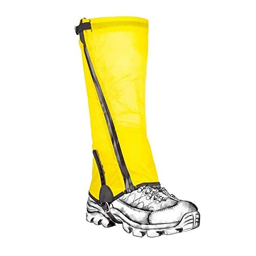 Portable Hiking Gaiters Waterproof Dustproof Leg Gaiters Snow Gaiters for Outdoor Walking Climbing Skiing Lightweight Portable Leg Cover Protect 828