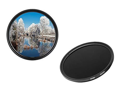 IR680 - Filtro infrarrojo (62 mm, IR 680 dHD, Filtro de Paso Digital)