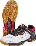 Oliver X-900 Chaussures d'intérieur Squash Badminton Handball 2019/20, Blanc/Bleu, Taille 43