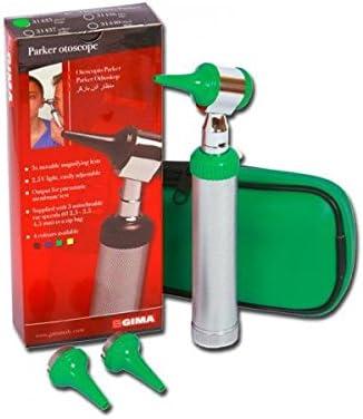 La Empresa GIMA 31435 Otoscopio Luz Parker Color Verde