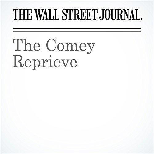 The Comey Reprieve copertina