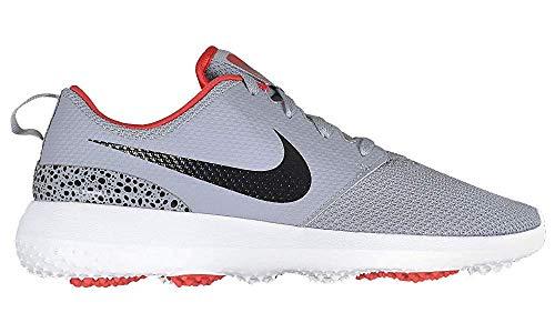 Nike Roshe G, Scarpe da Golf Uomo, Grigio (Gris/Rojo 006), 44 EU