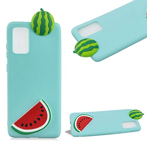 Best Deals! Cestor 3D TPU Case for Samsung Galaxy A31,Slim Fit Shock Absorption Shockproof Soft Silicone Gel Flexible Scratch-Resistant Rubber Protective Cover,Watermelon