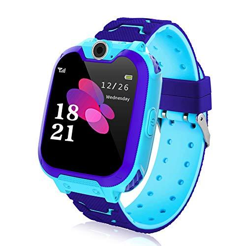 Kinder Smartwatch Smart Watch Phone mit Musik Player SOS 144 Zoll LCD Touchscreen Uhr mit Digitalkamera Spielen Wecker fur Jungen und Madchen