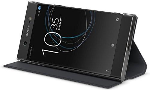Sony Etui avec Support pour Xperia XA 1 Ultra Noir