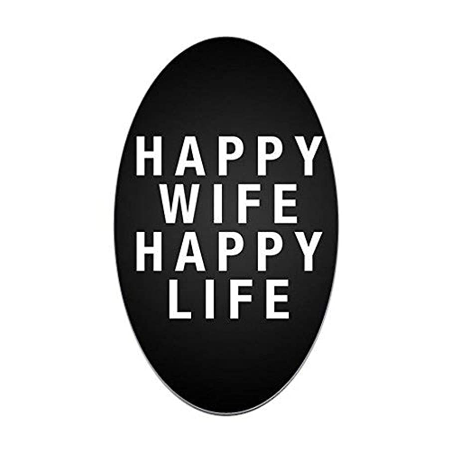 Alfr553Meg Funny Self Adhesive Stickers Happy Wife Happy Life Bumper Stickers Car Truck Tumbler Decal Novelty Gifts for Moms Adults Gifts Men Women Mothers Day