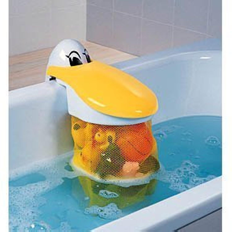 KidsKit Pelican Bath Toy Storage Pouch | Bath Toy Organizer by Kids Kit [並行輸入品]
