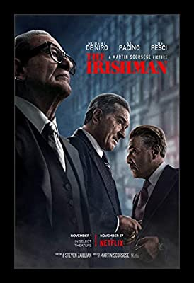 The Irishman Theatrical Release 11x17 Movie Poster 2019