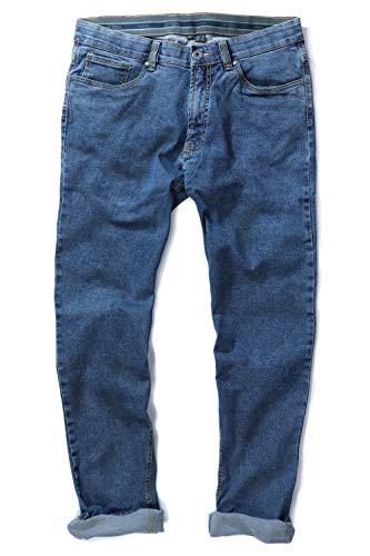 JP 1880 Herren große Größen bis 66, Jeans, Denim-Hose im 5-Pocket-Style, Stretch-Komfort, elastischer Bund& Regular Fit Blue Stone 58 708067 91-58