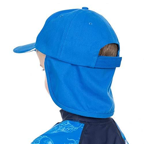Trespass Kinder Sommerkappe Cabello (7-10 Jahre) (Blau)