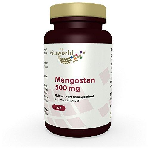 Vita World Mangostan 500mg 120 Vegi Kapseln Apotheken Herstellung