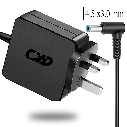 CYD 45W PowerFast-Replacement for Laptop-Charger HP 741727-001 740015-002 HSTNN-CA40 7400015-001 740015-003 ADP-45WD B PA-1450-36HE EliteBook Folio 1040 G1 F2R68UT F2R70UT F2R72UT Split 13 X2 13-G100