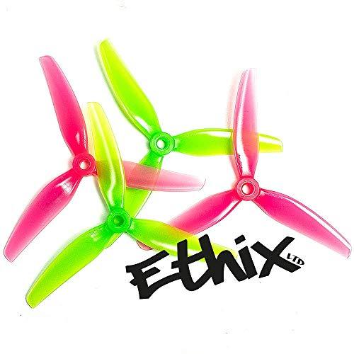 HQProp 5 Sets ETHiX S3 5X3.1X3 Watermelon FPV Freestyle Propeller (10CW/10CCW) N-Factory-DE