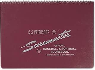 peterson baseball scorebooks