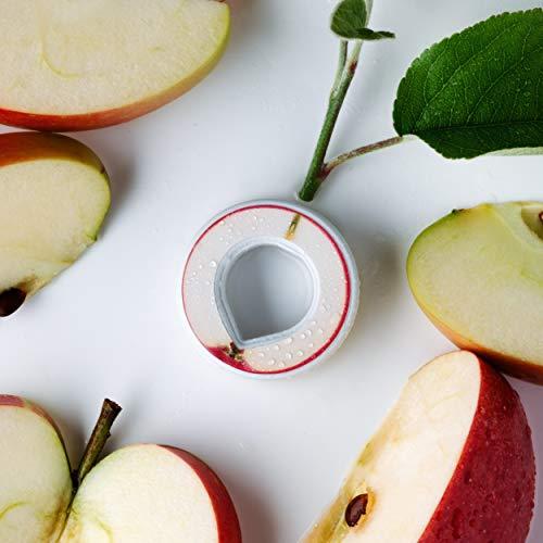 air up Duft-Pods für air up Trinkflasche - 6er Pack für insgesamt 30 Liter Geschmack in den Geschmacksrichtungen Limette, Zitrone-Hopfen, Orange-Maracuja, Apfel und Pfirsich (Apfel)