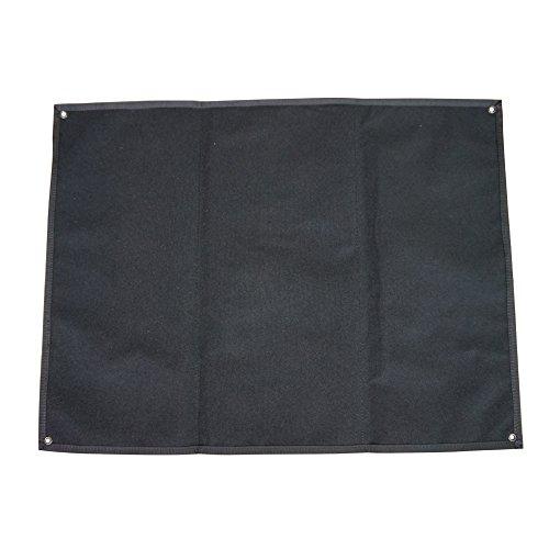OneTigris Taktische Militär Patch Holder Platte Klett-Teller (Schwarz) |MEHRWEG Verpackung