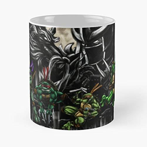 N\A Teenage Mutant Ninja Turtles TMNT Shedder - Kaffeetassen Einzigartige Keramik Neuheit Tasse