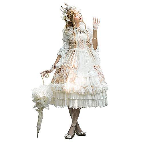 Sweet Lolita Dress JSK Dress Vintage Palace Victorian Dress Kawaii Japan Cos Vestido para Mujer