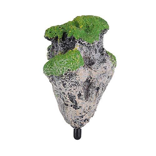 Kunstharz Künstliche Aquarium schwimmende Moos Stein Rocks Dekoration für Fish Tank Landschaft
