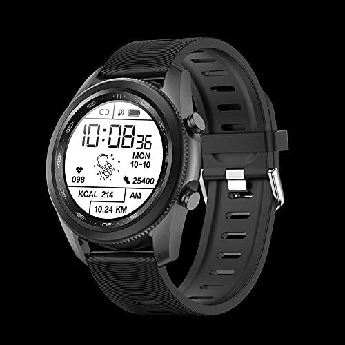 chengjinhuashangmao Smart Watch Bisel Giratorio Pantalla Redonda Modo Deportivo Dormir del Tiempo (Color : 3)