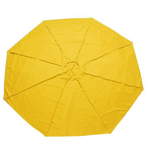 Yi-xir Komfortable Erfahrung 300x300x115cm Zelt Sunshade-Tuch außerhalb der Patio-Garten-Regenschirm-Baldachin-Regenmantel Anti-UV-Ersatzabdeckung Zelt Sunshade Kompakter Reiseschirm