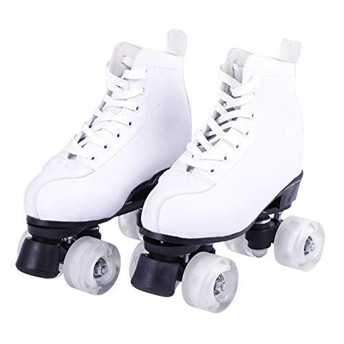 HealHeatersⓇ Rollschuhe/Discoroller Größen 35-45 - Rollerskates Disco Roller Skate Indoor Outdoor, Bequem Und Atmungsaktiv,43