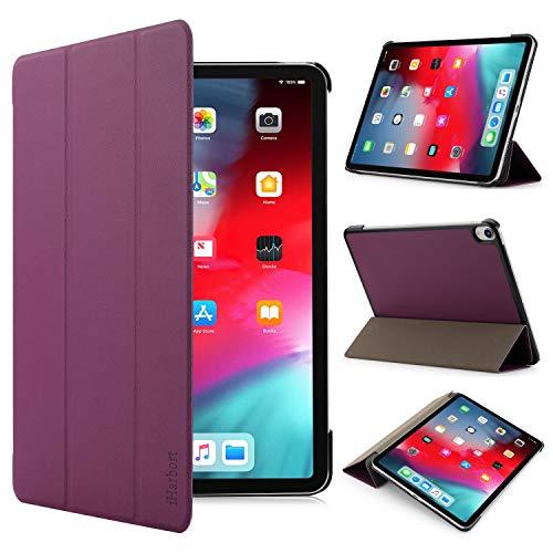 iHarbort iPad Pro 11 2018 custodia in pelle Cover - ultra sottile di peso leggero Case custodia in pelle per con il sonn/sveglia la funzione iPad Pro 11 pollice 2018, viola