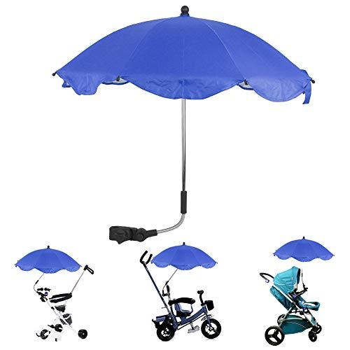 DD&Eren Los niños Azul al Aire Libre Parasol Umbrella Libre Desmontable fácil Ajuste Paraguas de instalación, fácil instalación