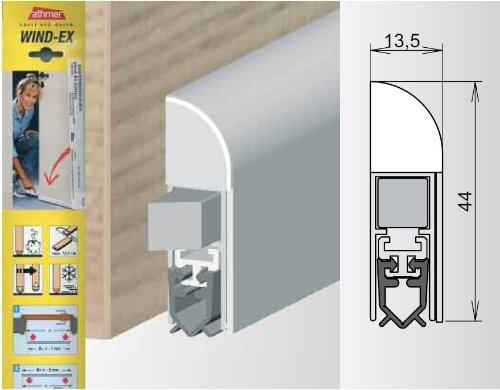 Athmer Türdichtungen Wind-EX | Farbe: weiss | Länge (mm): 1100