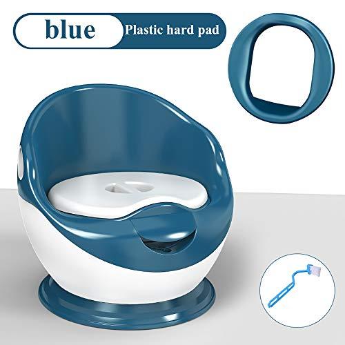 ZZWBOX Vasino per Bambini Bimbi Baby,Materiali ecologici,Portatile Baby Vasino,Confortevole e igienico,Toilet Seat Portatile,Simulazione per Bambini Toilette,Design antispruzzo