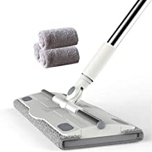 JSZMD Flat Mop Household Rotating Wet and Dry Cleaning Mop Floor