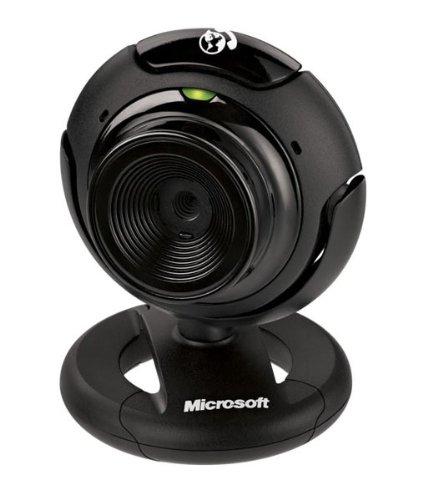 Microsoft LifeCam Webcam VX-1000 Schwarz (original Handelsverpackung)